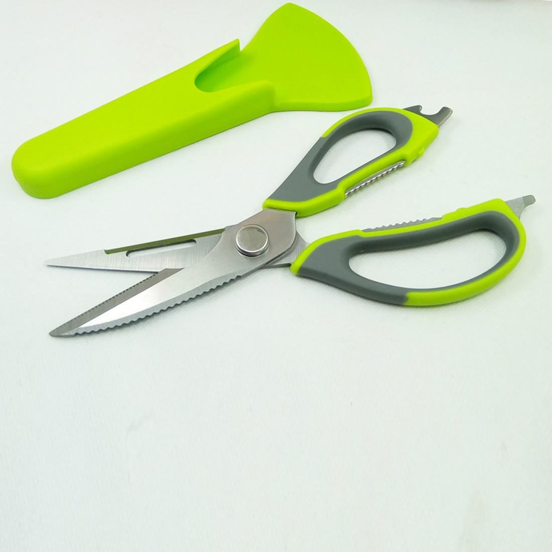 Alta calidad cocina tijeras cuchillo para pescado pollo hogar Acero inoxidable multifunción cortador tijeras herramientas de cocina