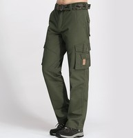High Quality Outdoor Cargo Pants Men Spring Autumn Sport Casual Multi Pocket Jogging Army Style Gym