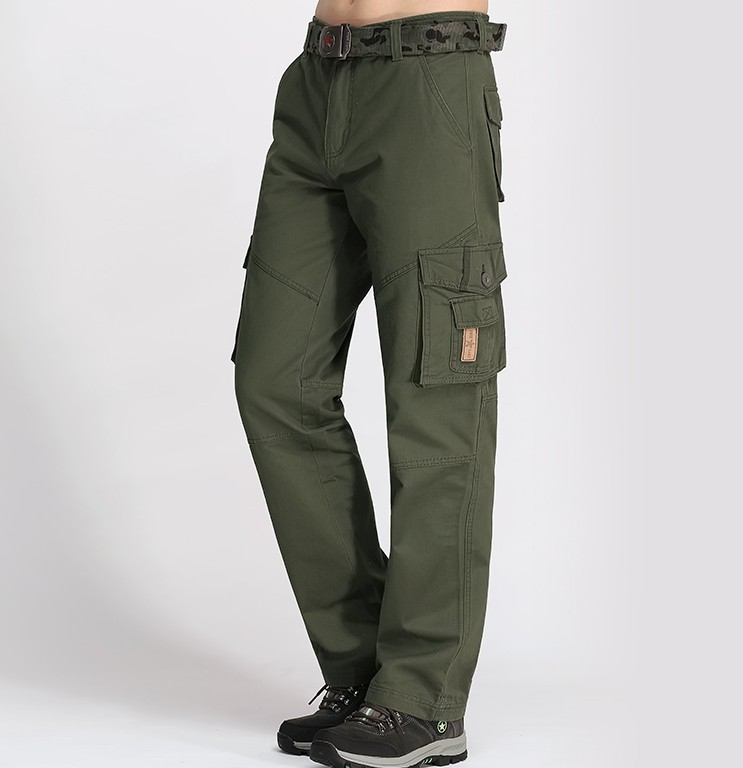 Plus Size Cargo Pants Male Casual Multi Pocket pant pants Men Full Length Men's Joggers Army Style Winter Trousers Man Mk76121 серьги chardin серьги
