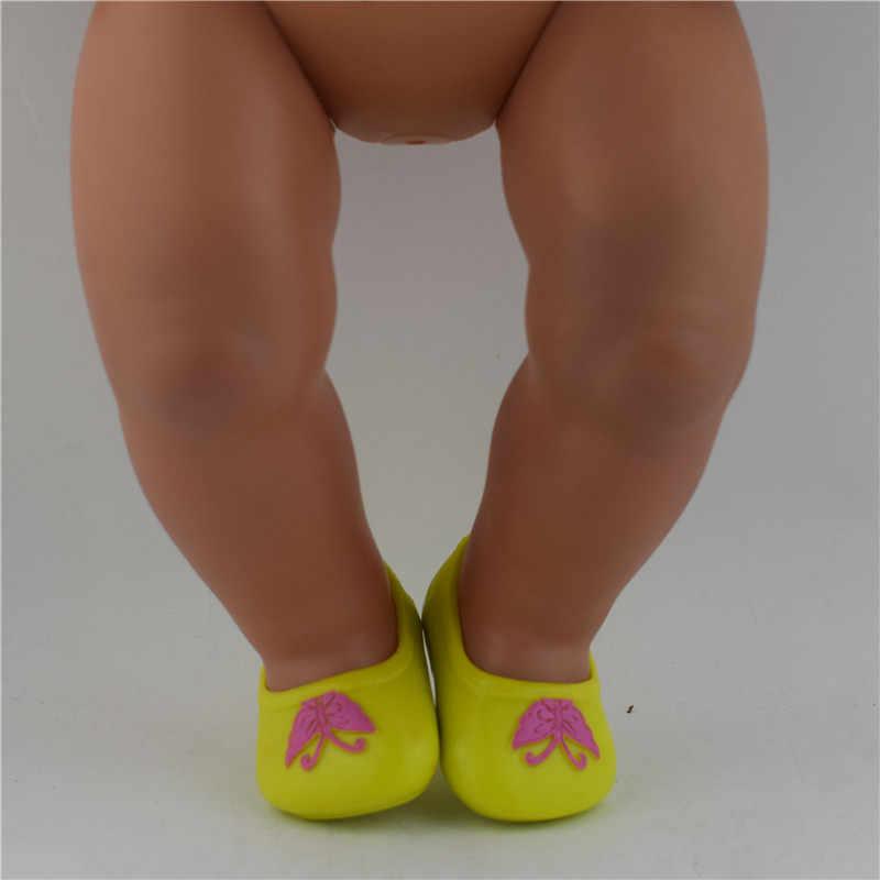 15 Kleur Kiezen 1Pcs Schoenen Dragen Fit 43Cm Baby Pop Kleding En Accessoires, Kinderen Beste Verjaardagscadeau