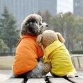 Filhote de Cachorro Do Gato do animal de Estimação Cães Roupas casuais Camisa POLO Lapela Camisetas Sólidos Cozy roupas para Cães XS S M L