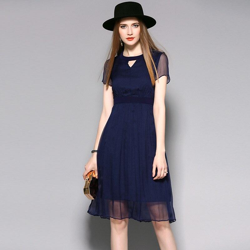 Online Get Cheap Royal Blue Dress Casual -Aliexpress.com  Alibaba ...