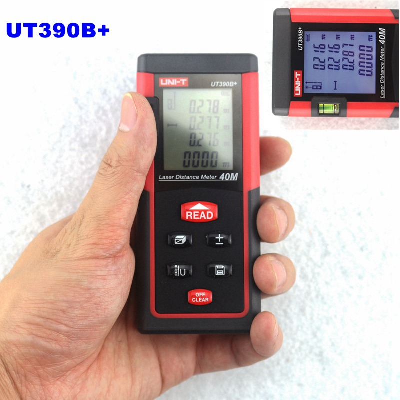UNI-T UT390B+ 40m Portable Laser Distance Meter Bubble Level Rangefinder Instrumentation for Area Volume Diagnostic-tool ман 40 390 бу продам