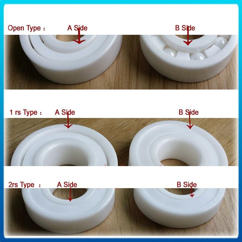 full ceramic bearing 17287 wheel hub replacement bearing ceramic wheel hub bearing zro2 15267 15 26 7mm 15267 full zro2 ceramic bearing