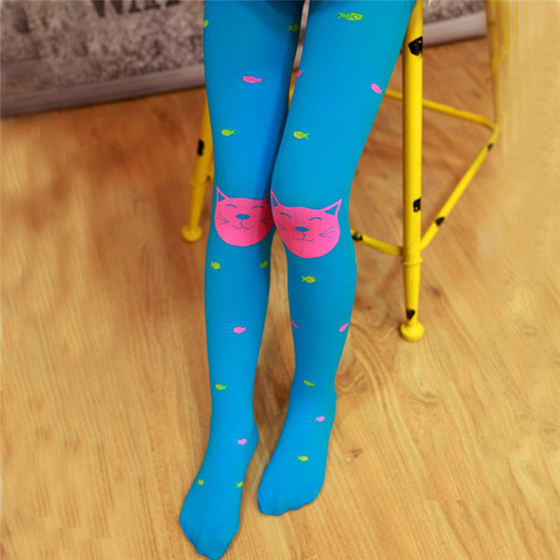 fashion good quality polyester pantyhose kids sweet cartoon lovely girls socks meia infantil dropshipping 3OT12 (13)