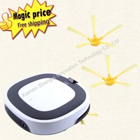 Multifunction Intelligent Robot Vacuum Cleaner With Sweep Vacuum Mop Sterilize LCD Touch Screen Rainbow Cleaner