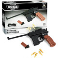 New Ausini Arms series the Mauser Military Pistol Model Building Blocks Classic children Toys Compatible kid brand gift