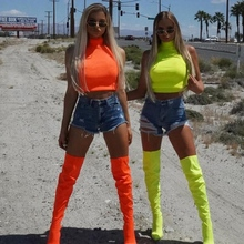 2019 Sexy Sleeveless Crop Top Women  Summer High Collar Skinny Tight Top Vest Fashion Solid Color Exposure Navel Vest Tank Tops