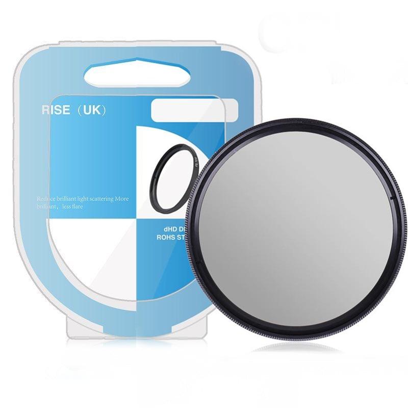Digital Nc C-PL Includes Lens Adapter Multicoated for Panasonic Lumix DMC-FZ100 Circular Polarizer 58mm Multithreaded Glass Filter