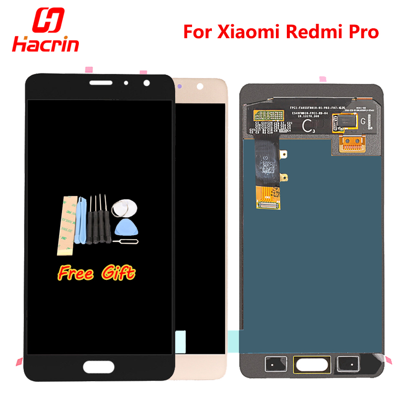 Xiaomi Redmi Pro LCD display + Touch Screen Digitizer Premium Replacement for Xiaomi Redmi Pro 5.5 inch Mobile Phone