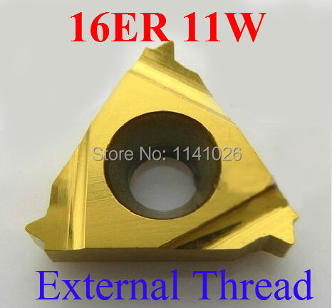 16ER 1.75ISO SMX30 Carbide external thread insertt For Stainless Steel 10P