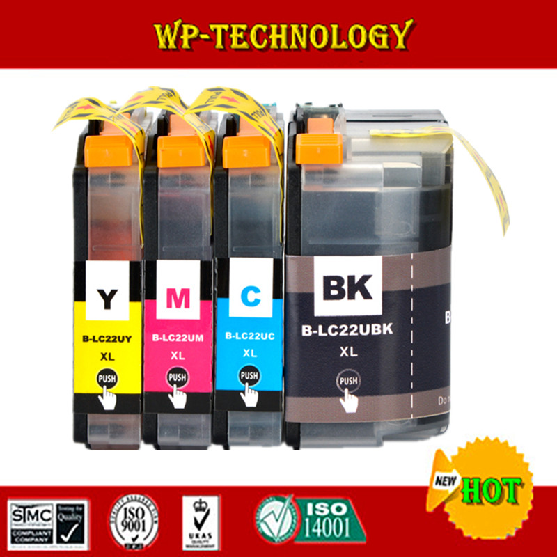 Compatible For Brother LC22U LC 22U LC 22UXL printer ink cartridge suit For Brother DCP-J785DW MFC-J985DW