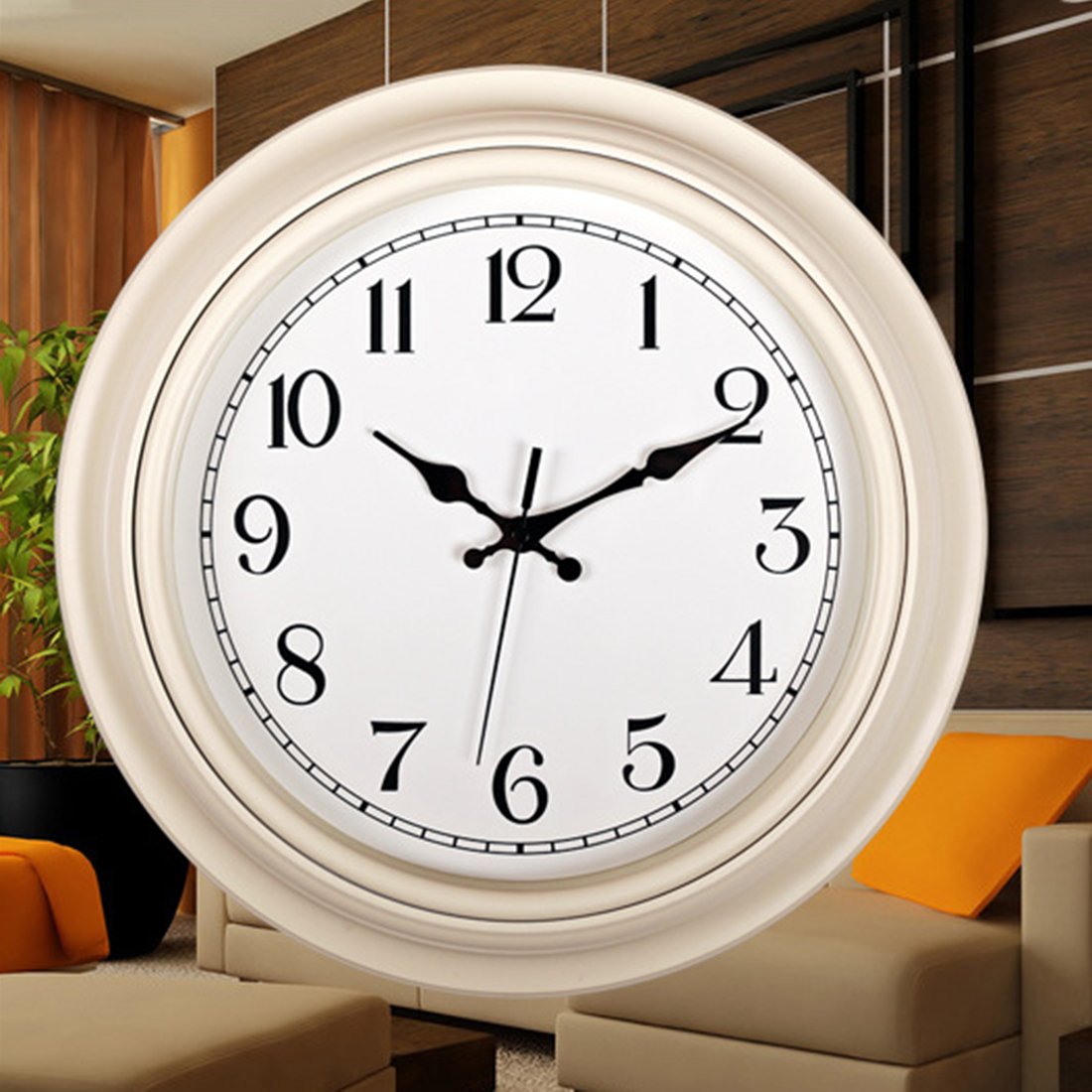 14 inch fashion style wall clock arabic numerals design silent 14 inch fashion style wall clock arabic numerals design silent quartz wall clock decor crafts in wall clocks from home garden on aliexpress alibaba amipublicfo Choice Image
