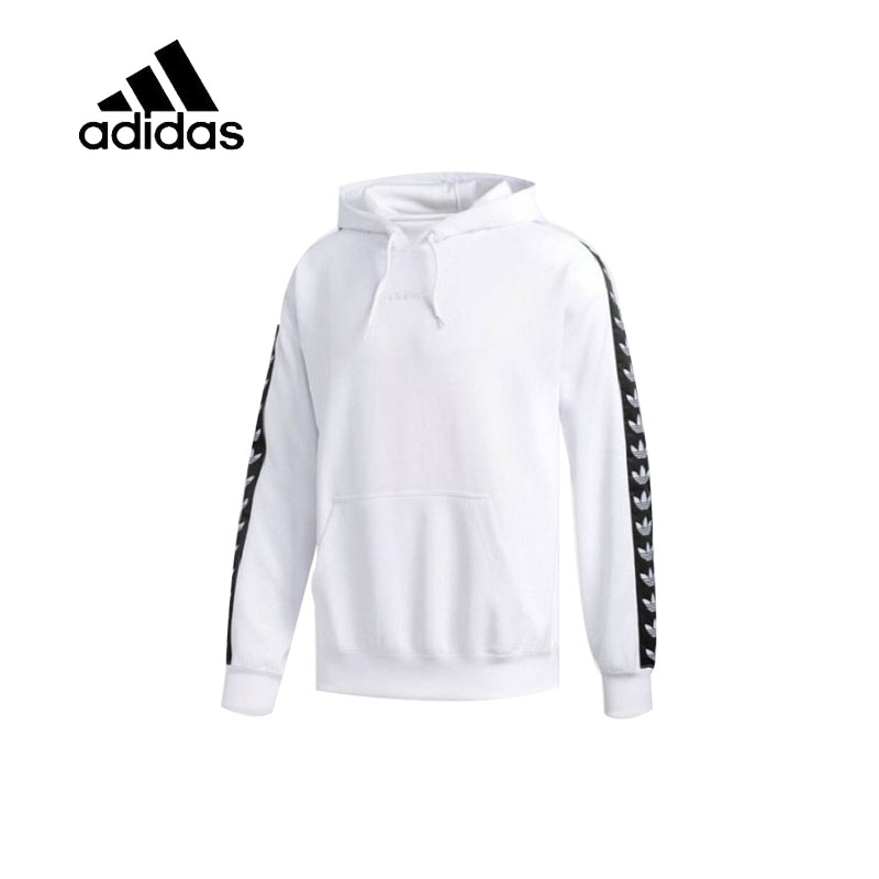 Original New Arrival Official Adidas Men's Breathable Pullover Hoodies Comfortable Sportswear Good Quality CE1640 купить в Москве 2019