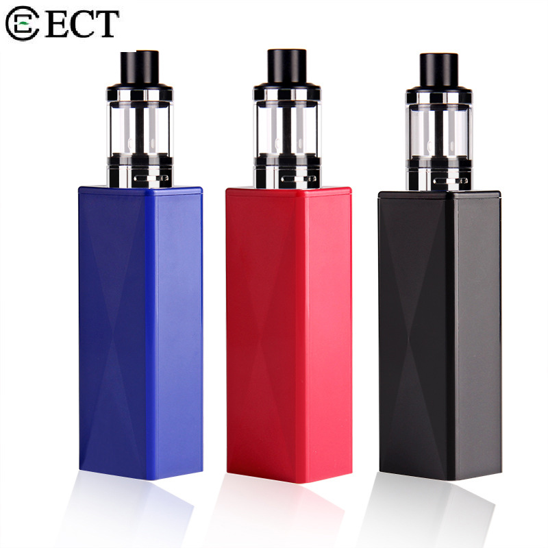 2017 оригинальные ect 40 Вт starter kit 2200 мАч электронные сигареты 18650 аккумулятор МОКС mod VAPE дешевые электронные сигареты VS ijust S ...