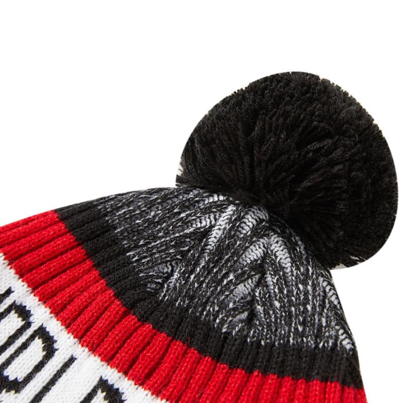 Winter Beanie Womens Beanie Knitted Cap Unisex Casual Hats Men Hip-Hop Skullies Beanie Warm Hat White Cotton Chapeau Femme04