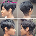 Good Short Bob Lace Front Wigs With Baby Hair Straight Heat Resistant Synthetic Wigs For Black Women Cheap Wig For Black Hair