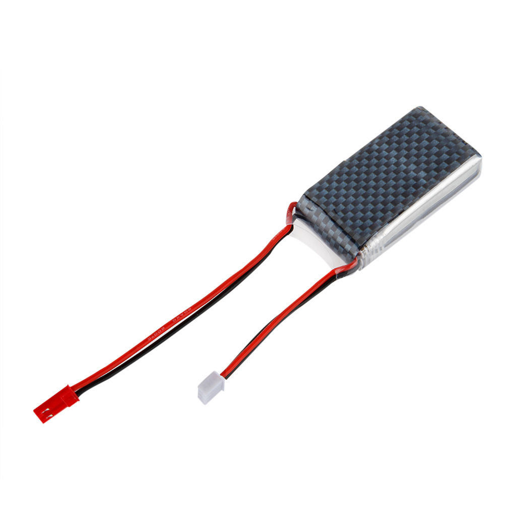 7.4V <font><b>1000mAh</b></font> <font><b>2S</b></font> 20C <font><b>Lipo</b></font> RC Battery JST for RC Helicopter RC Airplane RC Hobby image