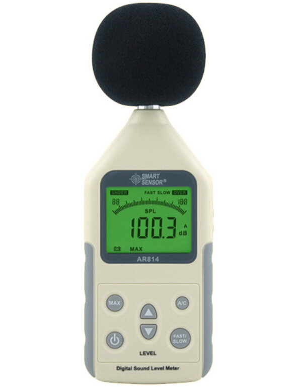 Digital Sound Level Meter AR814 Measuring Range 30~130dB Noise Level Meter Tester Decibel Meter  цены