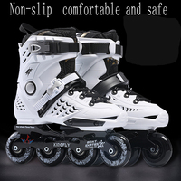 White Outdoor Skates shoes Inline Skates Adult Roller Boots Sneaker Athletic shoes