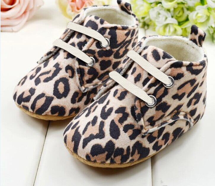 New Infannt girl Baby Fashion shoes prewalkers First Walkers shoes newborn shoes ileopard print