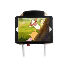 Авто заднее сиденье подголовник Монтажный держатель для всех 9,7 дюймов iPad, iPad Air Может использоваться как защитный чехол из ПУ для iPad