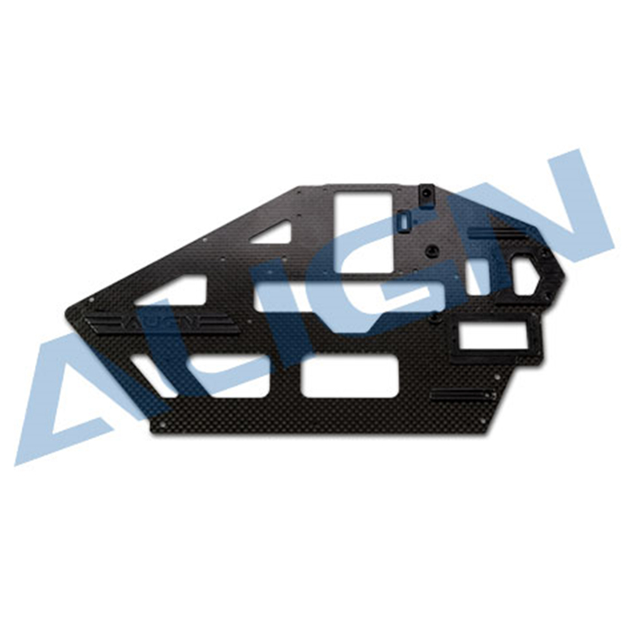 ФОТО Free Shipping Align T-rex 500L Carbon Fiber Main Frame(Left)-1.2mm Align T-rex 500L Helicopter Parts H50B002XXW