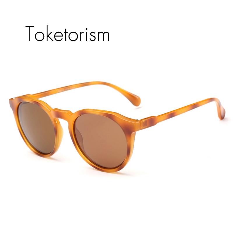 Toketorizëm Syze dielli të modës së re për burra gra klasike Leopard syze dielli polarizuara të rrumbullakëta uv400
