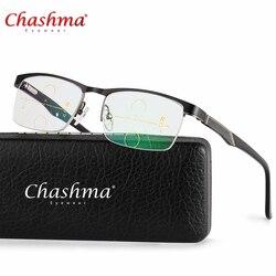 Lega di titanio Multi-Focale Progressive Occhiali Da Lettura Uomini Commerciali Diottrie occhiali Da Presbite Occhiali Da Vista gafas de lectura
