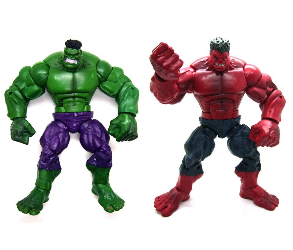 Marvel Legends 8 The Avengers Incredible Hulk Red Hulk TRU Loose Action Figure