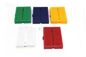 Image 4 - Frete grátis 30 PCS Mini placa de ensaio SYB 170 cor 35*47*8.5mm placa de teste placa universal pode ser costurado