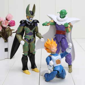 Image 5 - Dragon Ball Z Joint Beweegbare Vegeta Piccolo Zoon Gohan Zoon Goku Trunks Gogeta Pvc Action Figure Speelgoed