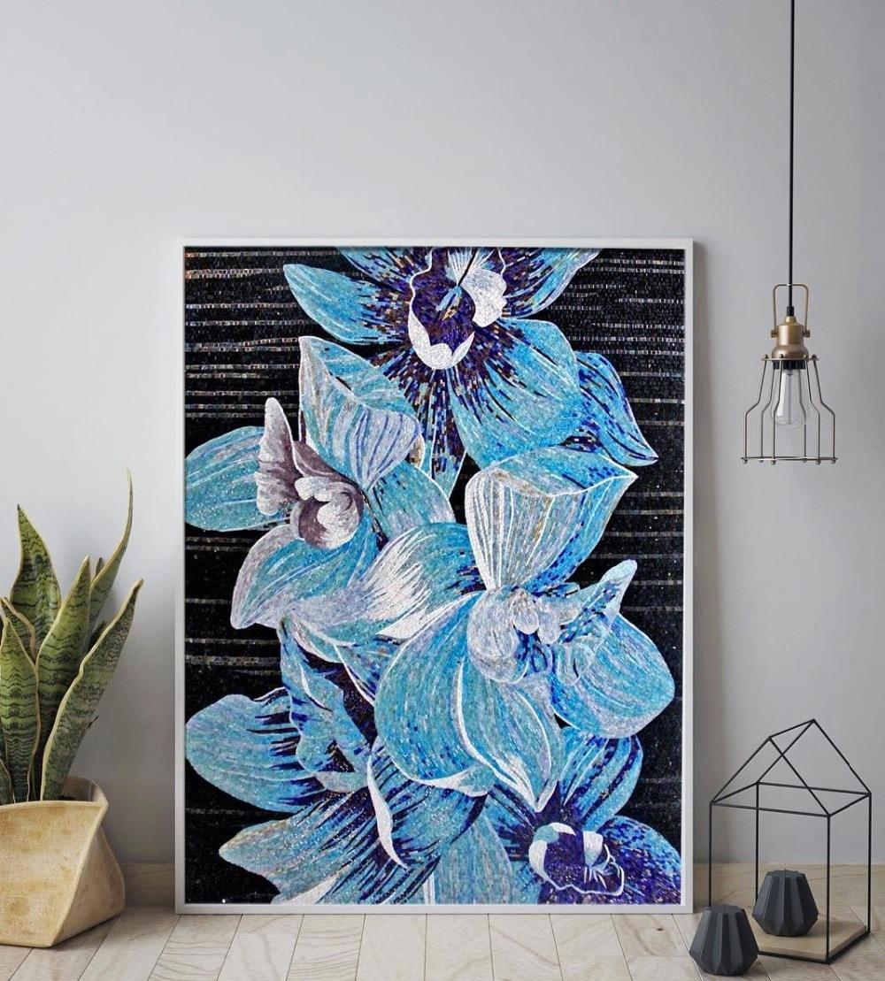 Наполнить комнату с тире экзотических обращение с это Стекло Цветочная мозаика!