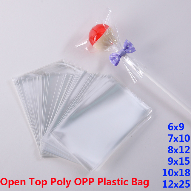 dd4d7ef11d Clear Poly OPP Plastic Packaging Bags Small Plastic Baggie Party Bag for  Candy Cookie Toy Jewelry Soap Packing Gift Pouch Favors