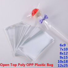Clear Poly OPP Plastic Packaging Bags Small Plastic Baggie Party Bag for Candy Cookie Toy Jewelry Soap Packing Gift Pouch Favors(China)