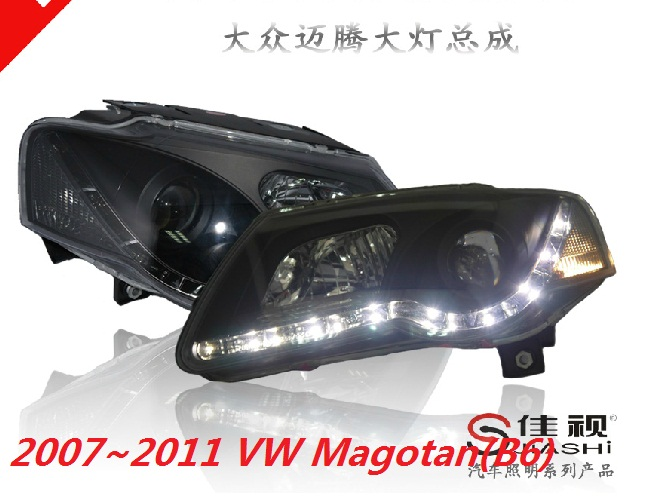 HID,2006~2011,Car Styling for Passat B6 Headlight,sharan,Golf6,routan,saveiro,polo,passat,magotan,Passat head lamp tiguan taillight 2017 2018year led free ship ouareg sharan golf7 routan saveiro polo passat magotan jetta vento tiguan rear lamp