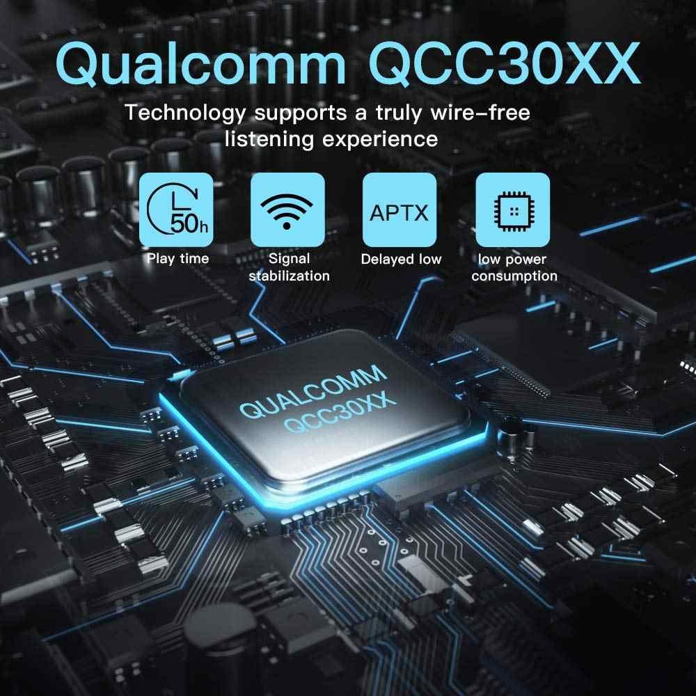 Oryginalny sylaba S101 QCC3020 chip bluetooth V5.0 bas słuchawki bezprzewodowe kontrolą głośności zestaw słuchawkowy z redukcją szumów sylaba S101