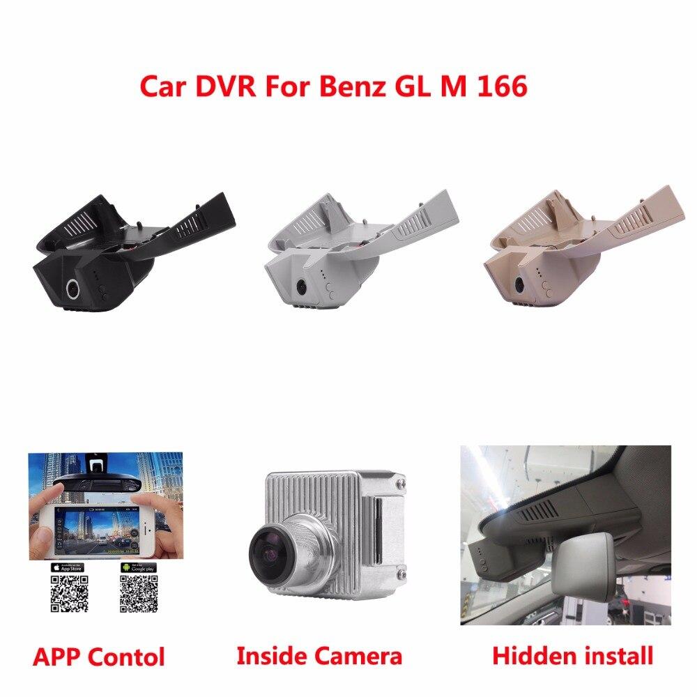 Hidden Car DVR Camera For Benz GL M 166 DVR Dash Cam Dash Camcorder 170 Angle With G-sen ...
