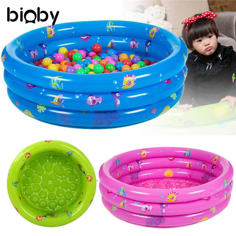Inflatable Kids Bathtub Baby Bath Hot Tubs Portable Thickeni