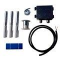 Eco-worthy 108 unid 78*26mm células solares células w/bus pestaña de la pluma de flujo j-box, cable diy prueba buena