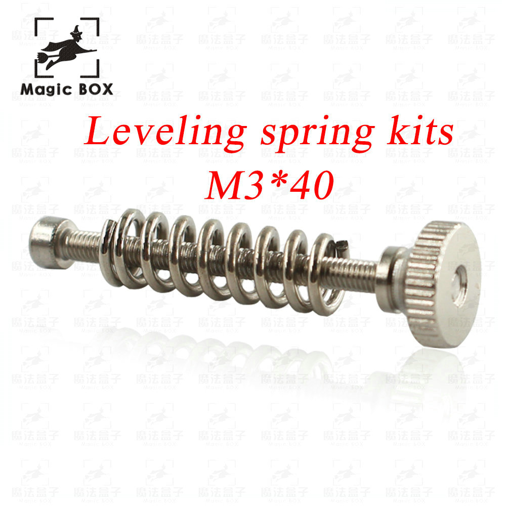 10pcs-m3-thread-screws-nuts-leveling-spring-leveling-knob-suite-3d-printer-parts-leveling-components-hexagon-hex-stainless-steel