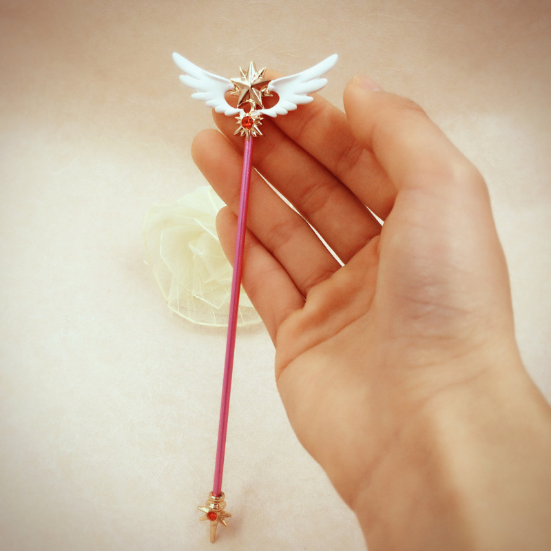 Costumes & Accessories Anime Cardcaptor Sakura Cosplay Props Accessories Magic Wand Sticks Plush Toy Novelty & Special Use