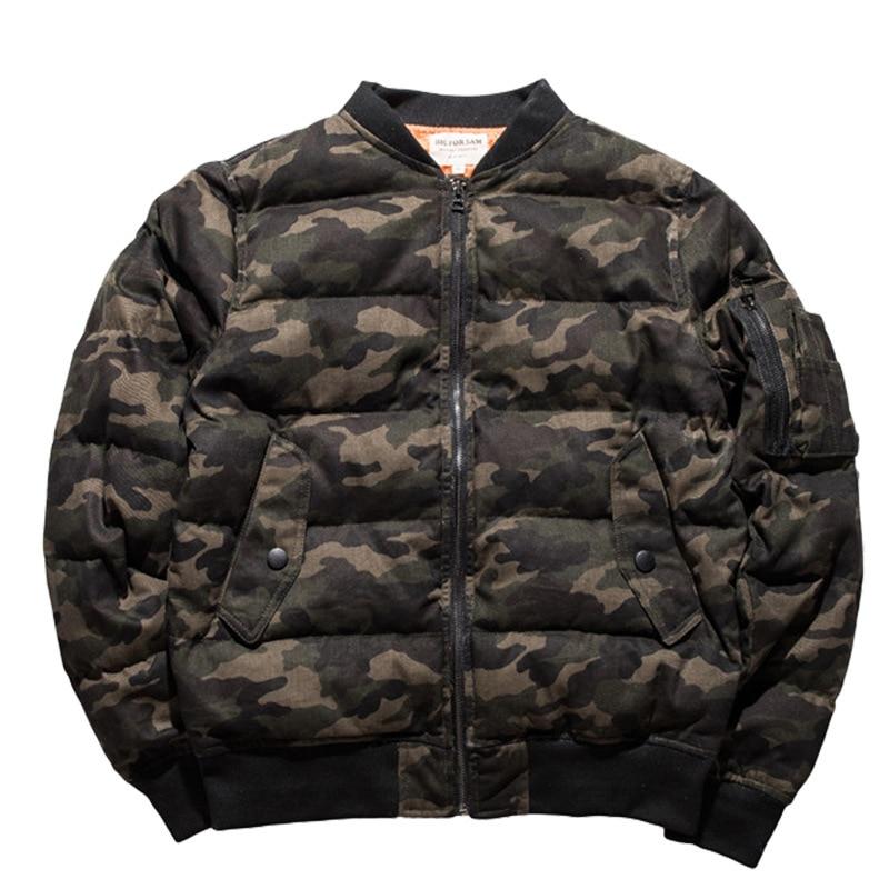 Парка с воротником, камуфляжная мужская одежда ВВС, узор, хлопок, со стоячим принтом, на молнии, повседневная, без зимы, мужская куртка, 2019, но... - 5