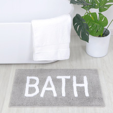 New Water Absorption Bath Mat Bathroom Plush Velvet Slip Mats Rug Non-slip Home Bed Room Decor For Toilet Dropshipping