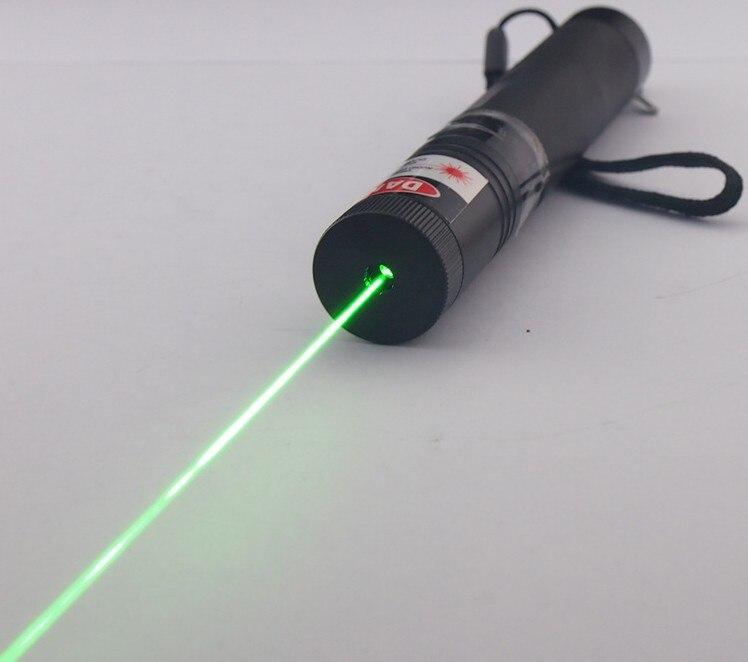 Forte puissance militaire Coût prix promotion 100000 m 532nm vert Laser Pointeurs lazer lampe de poche lumière cigares brûler match