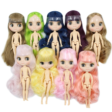 Naked Doll Hands Blyth Matte 20cm Body Nude with 1/8 Face-Joint Frosted Factory