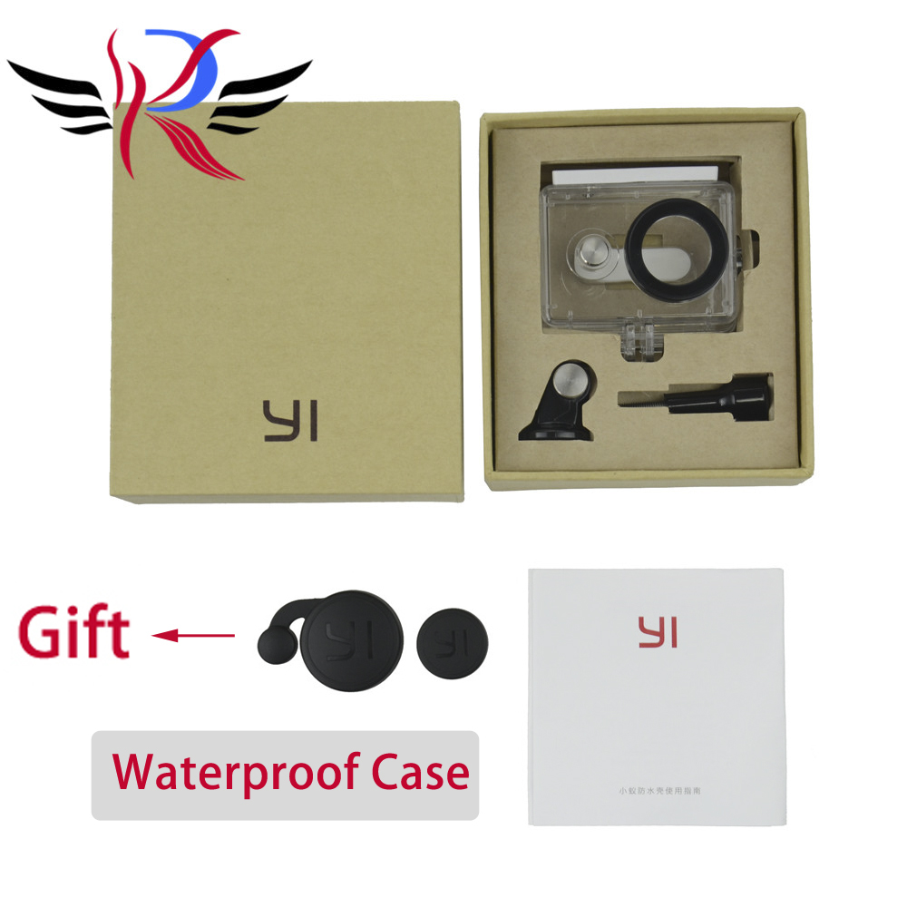 IN STOCK NEW Original Waterproof Case for font b Xiaomi b font Yi Action Camera 40M