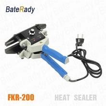 FKR-200 BateRpak Hand held/Double Continous heatting sealer,Plastic bag Welders,kraft paper bag heat sealing machine