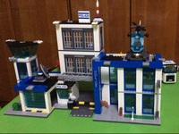 Bela 10424 City Police Station Blocks Brick Toys Set Boy Game Team Castle Compatible With Decool