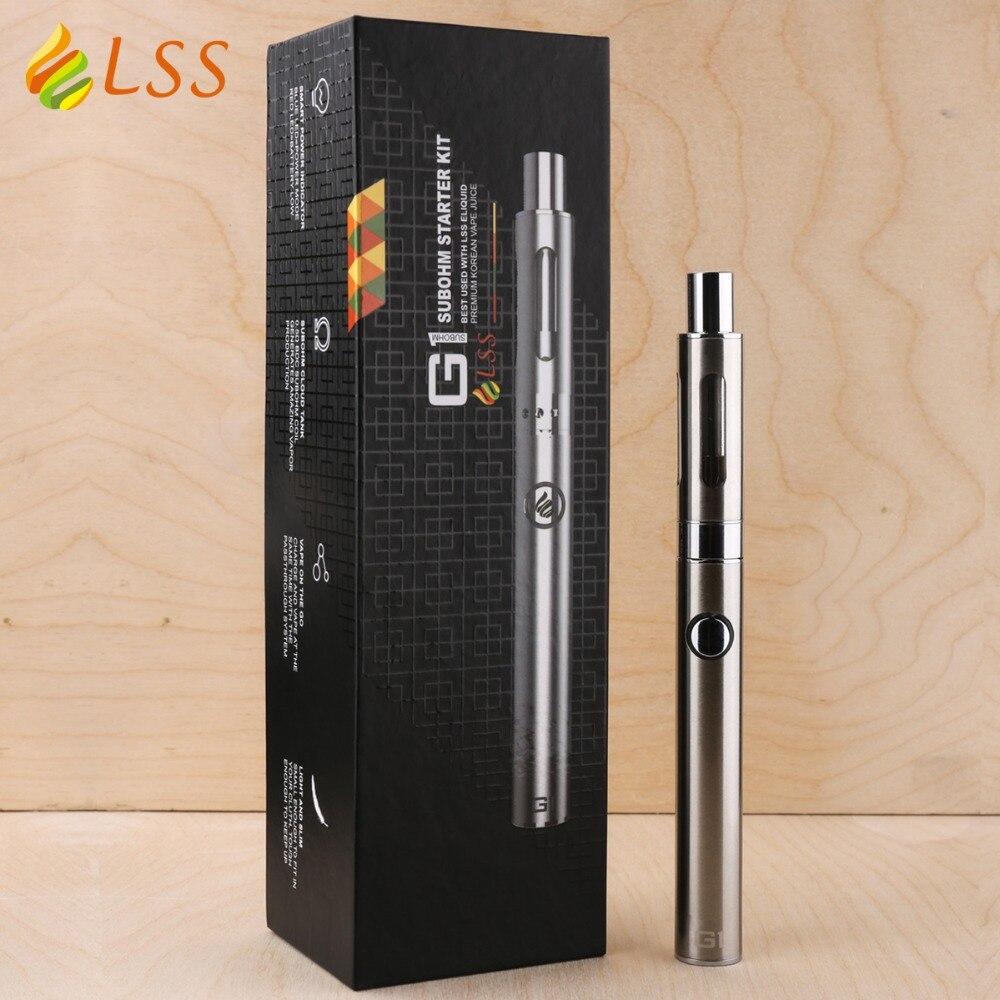 GS Authentic vaporizer pen LSS G1 Subohm Kit 650mah gs e cig battery 0 5ohm tank